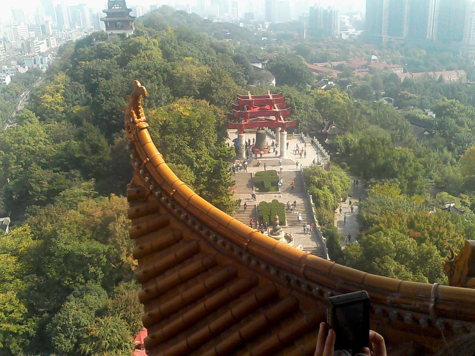 Wuhan - Temple © Afrika Ndongozi-nsabimana